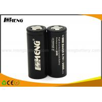 China 100g 26650 E Cig Battery 60A High Drain With Good Consistency wholesale