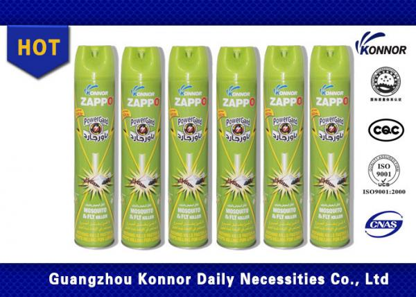 Quality Flies / Mosquitoes / Cockroaches Aerosol Insecticide Spray Bed Bug Spray for sale