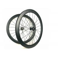 China Hand - Built Carbon Racing Bike Wheels 50MM Road Disc 700C Racing Cycling wholesale