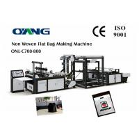 China Full Automatic Nonwoven Bag Making Machine / Computer Control Bag Forming Machine wholesale