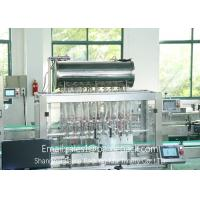 China Piston Type Fully Automatic Jam Filling And Capping Machine 220V / 50HZ wholesale