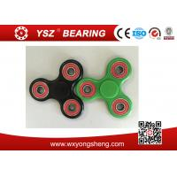 China Stainless Steel Bearing Tri-Spinner Finger Spinner Fidget Toys For Anxiety wholesale