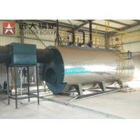 China Automatic 10tons 10tph Industrial WNS Gas Oil Fire Tube Steam Boiler wholesale