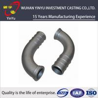 China Lost Wax Investment Casting Small Parts , Cast Pipe Fittings Low Tolerance wholesale