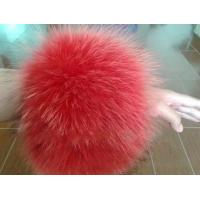 China Red fur sleeve Cuffs for coats and Jackets wholesale
