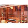 China Wall mounted round wine rack wholesale