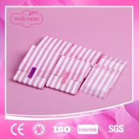 China Lady women cotton anion negative ion herbal sanitary napkin pad wholesale