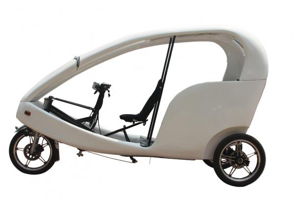 800w Brushless Motor Electric Tricycle For Passenger
