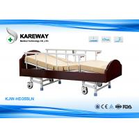 China 3 Functions Homecare Hospital Beds Nursing Bed With Solid Wood , Metal Material wholesale