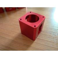 Buy cheap High-precision Red Color Anodized CNC Machining Aluminum Industrial Parts from wholesalers