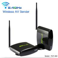 PAT-360 2.4 GHz Camera Analog Signal video wireless Transmitter with Long Range Transmit Distance PAKITE Brand