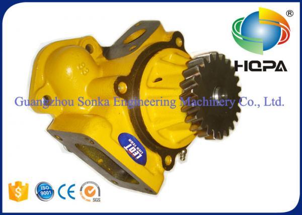 Quality Water Pressure Pump 6D125E PC400 Komatsu Engine , 6151-62-1102 6151-62-1103 for sale