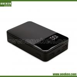 China Quick Charge 10000mAh Portable Power Bank  LED Digital Display Portable Charger wholesale