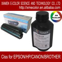 Quality laser toner powder for HP laser printer for sale