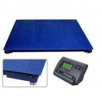 China SD Series 1.2*2.2m Floor Weighing Scales 5 T Heavy Duty Single Desk Without Frame wholesale