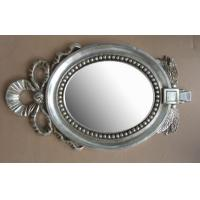 China lovely design wooden oval mirror frame on sale