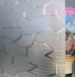 China Patterned glass wholesale