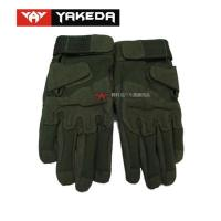 Buy cheap Durable Tactical Protective Gear Black Tactical Shooting Gloves from wholesalers