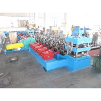 China Freeway Guardrail Galvanized Steel Plate Cold Forming Machine for Road Safety Barrier Use PLC Automatic Control on sale
