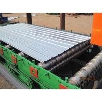 China Metal Steel Stud Machine / Corrugated Roll Forming Machine For Roofing Sheets wholesale