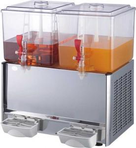 China Two Bowls Juice Dispenser(Cold & heat) LRSJ-20L×2 wholesale