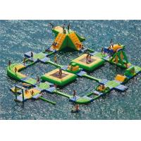 China New Design Giant Beach Inflatable Water Parks Lake Floating Water Games on sale