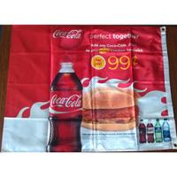 China Supply dye-sublimation print festival flag with warp knitted fabric wholesale