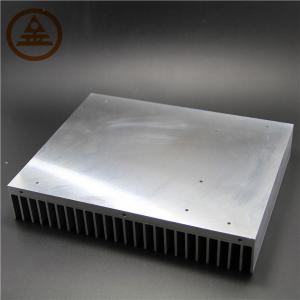 China Customized Aluminum Heat Sink , Extruded Aluminum Heatsink Stock wholesale