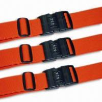 China 2 x 78-3/4-inch Luggage Strap/Belt, Various Kinds are Available, OEM Order are Welcome wholesale