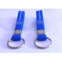 China Fashion Promotional Silicone Key Ring / Custom Silicone Keychains For Children on sale