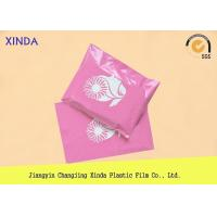 China Pink printing polythene 14.5 x 19 mailing clothing parcel bags DHL UPS express on sale