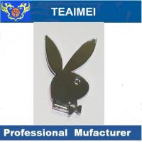 China Rabbit Playboy ABS Logo Custom Car Emblems And Badges With Strong Adhesive wholesale