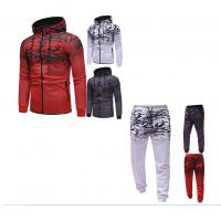 China High Quality Custom polyester Fabric Sublimation Mens Slim Fit Hoodies Street Tracksuit wholesale