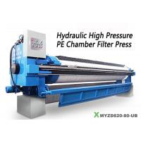 China High pressure hydraulic filter press solid-liquid separation treatment wholesale