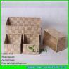 China LDKZ-003 set of four handwoven pp yard household storage basket wholesale