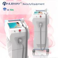 China CE approval 70J/c㎡ 808 nm skin rejuveantion diode laser hair removal machine wholesale