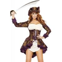 China Exotic Marauder Womens Sexy Costumes  Indian Fancy Dress Pirate on sale