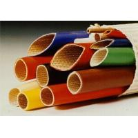 China Silicone Rubber Coated Fiberglass Sleeving -10ºC  +200ºC Continuous Operating Temperature wholesale