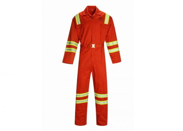 Quality Flameproof Heatproof PPE Safety Workwear Coverall Working Uniform Printed Logo for sale