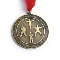 China Creative Sculpture Fitness Metal Award Medals For Kids Customization wholesale