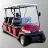 China Coche de visita turístico de excursión eléctrico del carro de golf de Seater del parque 6 con el motor de 3.7kw KDS wholesale