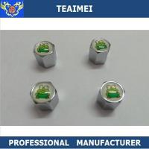 China Auto Logo Car Tire Valve Caps Dust Metal Alert Air Cap Various Type wholesale