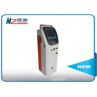 China OEM 32 inch automatic self ordering kiosk with card reader cash payment wholesale
