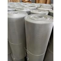 China Aluminum Flat Expanded Metal Mesh For Protection Guard 0.5mm Thickness wholesale