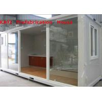 China Combined Custom Container House , Lightweight Single Container House With Bedroom on sale
