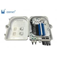 China 24FO fiber optic termination  FTTH box for outdoor pole mounted loaded PLC splitter wholesale