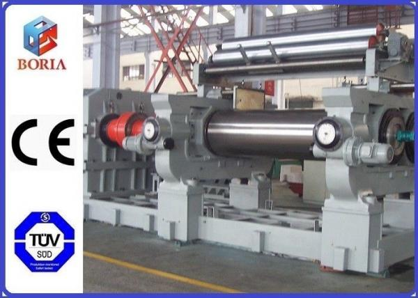 """Quality Customized Rubber Mixer Machine , Rubber Processing Machines 18"""" Roller Working Diameter for sale"""