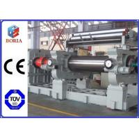 "China Customized Rubber Mixer Machine , Rubber Processing Machines 18"" Roller Working Diameter wholesale"
