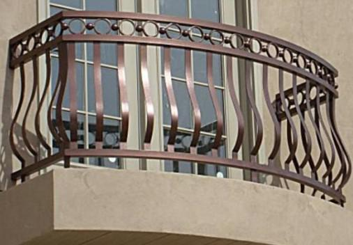 Hand railing design images for Balcony full grill design