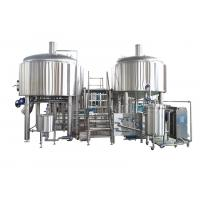 China 1500L Stainless Steel Large Brewing Equipment Semi - Automatic In Beer Production wholesale